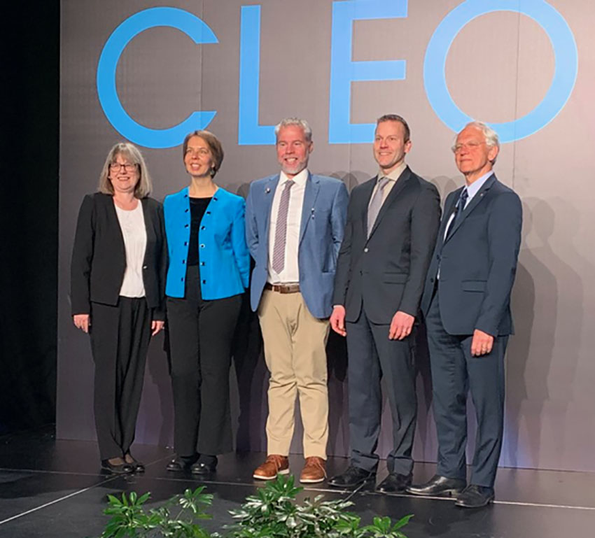 #CLEO2019 introduces Nobel Prize Winners